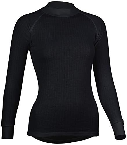 Avento thermoshirt t-shirt manches longues pour femme, Noir - Noir, 36