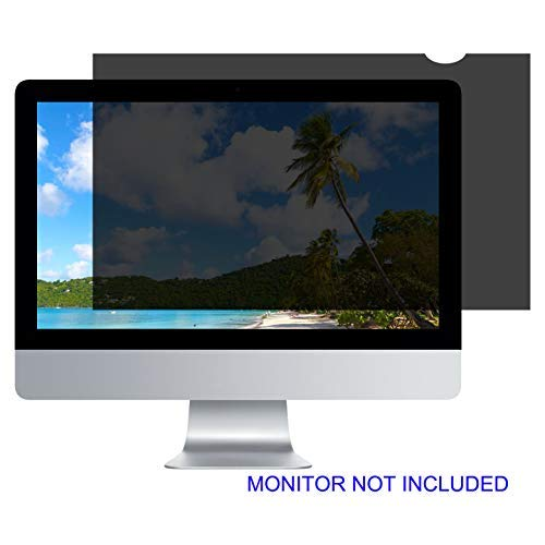 27''W Inch Privacy Screen Filter for Desktop Computer Widescreen Monitor - Anti-Glare, Blocks 96% UV,Anti-Scratch with 16:9 Aspect Ratio