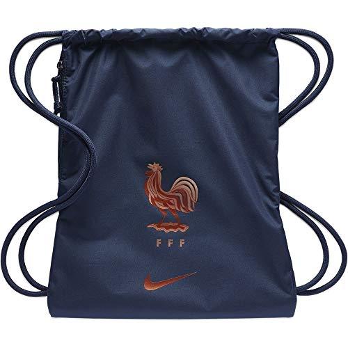 Nike Stadium FFF Gmsk Bolsas con cordón, Unisex Adulto, Midnight Navy/Mtlc Rose Gold, Talla única