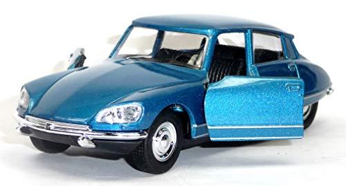 Generisch 1973 Citroen DS 23 blau Spritzguss Modellauto ca. 1:37 = 12cm von Welly
