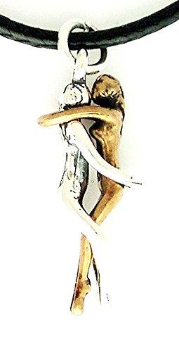 Jane Iris Designs Woman/Woman Embrace Pendant