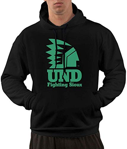 Pzrruot Mannen Fleece Pullover Hoody Zachte UND Vechten Sioux Sweatshirts