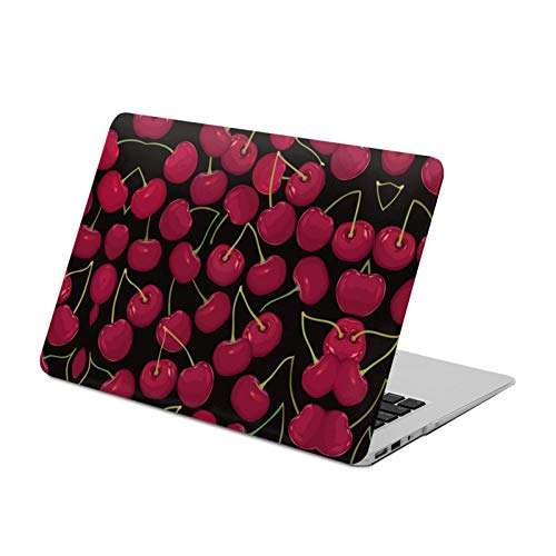 MacBook Air 13 inch Case 2020 2019 2018 Release A2179 A1932,Cherry Only,Plastic Hard Shell with Keyboard Brush, Only Compatible with MacBook Air 13 inch