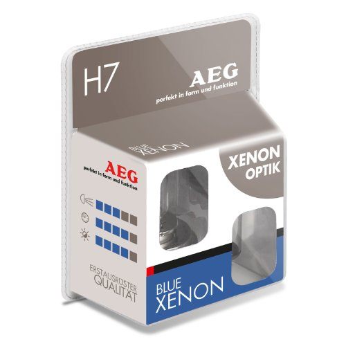 AEG Automotive 97265 Glühlampe Blue Xenon H7, 55 W, 2-er Set