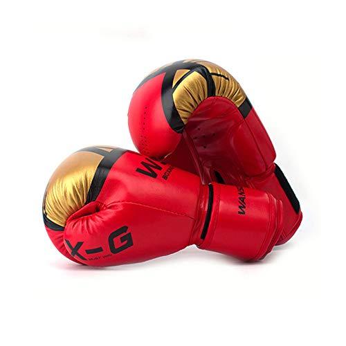 Guantes De Boxeo, Guantes De Entrenamiento para Entrenamiento De Boxeo, Artes Marciales, MMA, Combate Y Lucha con Absorción De Impactos óptima (B,10oz)