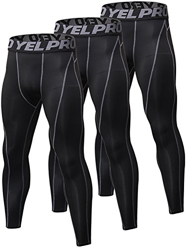 Yuerlian 3 Pack Mens Compression...