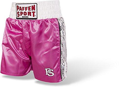 Paffen Sport Lady Glory Boxing Short - Boxerhose für Damen, pink/weiß, Größe M