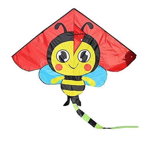 Caixia Drachen, Karierter Stoffdrachen für erwachsenes Karikaturmuster der Kinder, Vier Verschiedene Rollendrachen (Farbe : B)