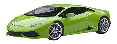Lamborghini Huracan LP610-4 Verde Mantis 4 Layer/Green Metallic 1/18 by Autoart 74605 by LAMBORGHINI