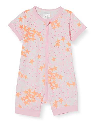 Dim Barboteuse Bebe Juego de Pijama, Etoiles Roses, 1M para Bebés