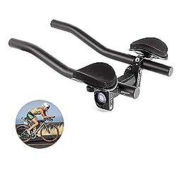 in budget affordable DSRongTT Aerobar Handlebar Handlebar Bike Stand Handlebar Bicycle Aluminum Alloy Armrest Handlebar…