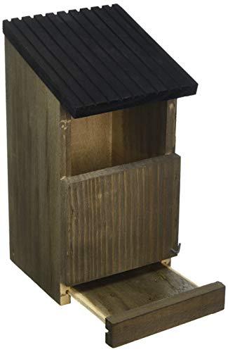 Gardman Nest Bird Box, Brown, 14x12x24 cm
