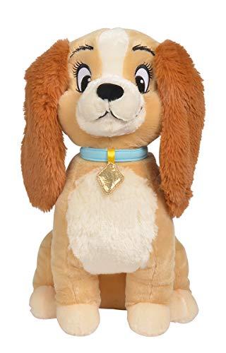 Simba 6315876184 - Disney Klassik Plüsch Susi, 45cm, Plüschfigur, Plüschhund, ab den ersten Lebensmonaten geeignet