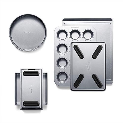 Calphalon Premier Countertop Safe Bakeware 6 Piece Set, 6-Piece Set (B07VTWT98D)