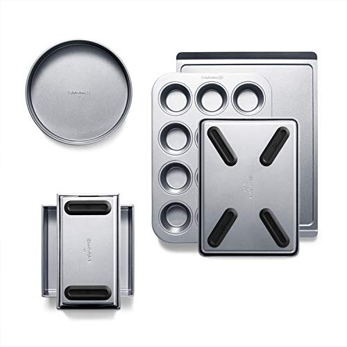 Calphalon Premier Countertop Safe Bakeware 6 Piece Set for 81.45