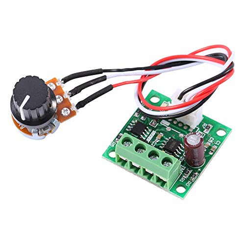 Controlador de velocidad DC 1.8V-15V 2A Mini PWM Motor Módulo de control del controlador de velocidad
