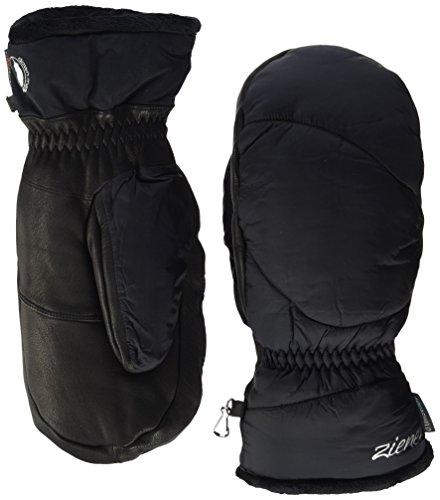 Ziener Damen KALI AS MITTEN Ski-Handschuhe / Wintersport | wasserdicht, Daune, sehr warm, schwarz (black), 7