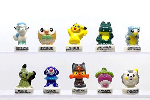 FABOLAND Pokemon Lune ET Soleil 3D - BD1060-10 Sujets Porcel