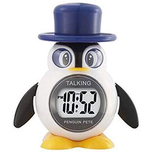 REFLEX - 908-3102 - englisch sprechender Pinguin-Wecker
