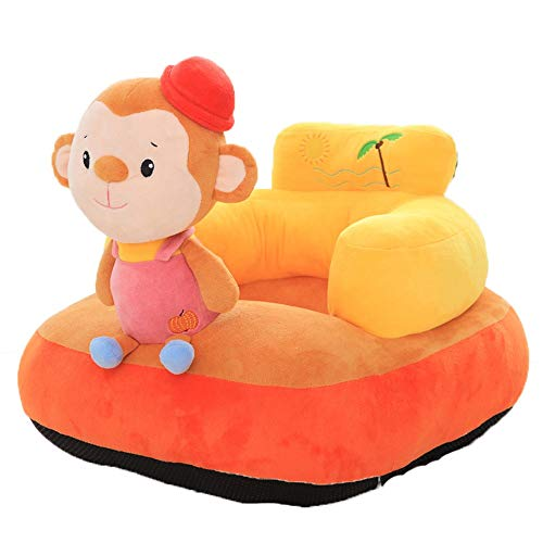Best Buy! QERNTPEY Baby Sofa Infant Support Seat Sofa Chair Kids Stuffed Cartoon Animal Plush Toys B...