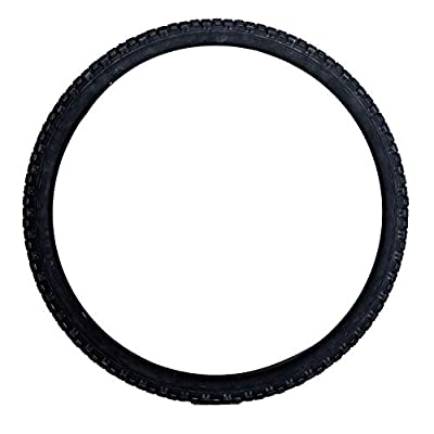 "MOHEGIA Bike Tire,Folding Beach Cruiser Bicycle Replacement Tires -26"" x 2.125"" /Black"