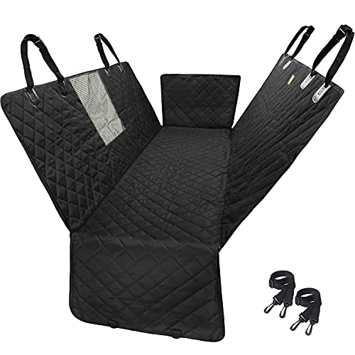 ipuppy Dog Car Seat Cover With Mesh -Waterproof & Padded Back Protector For...