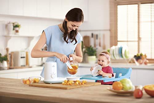 Philips AVENT 2-in1-Babynahrungszubereiter Dampfgaren & Mixen SCF862/02, weiß - 4