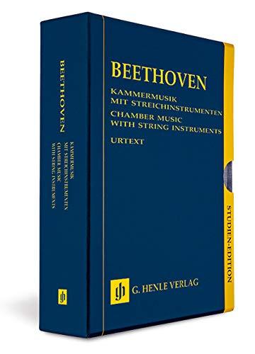 Kammermusik mit Streichinstrumenten - 13 Bände Studien-Edition im Schuber