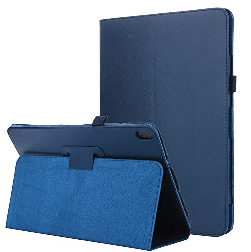 Lobwerk Cover für Lenovo Tab E10 TB-X104F 10.1 Zoll Schutzhülle Etui mit Standfunktion Blau