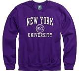 Ivysport NYU Crewneck Sweatshirt, Heritage, Violet, Small