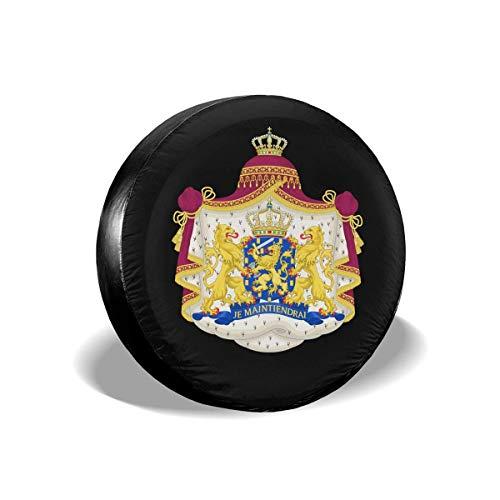Cubierta de llanta de refacción Emblema Nacional de los Países Bajos Protectores de Llantas Cubiertas de Llantas 16 '' Pulgadas