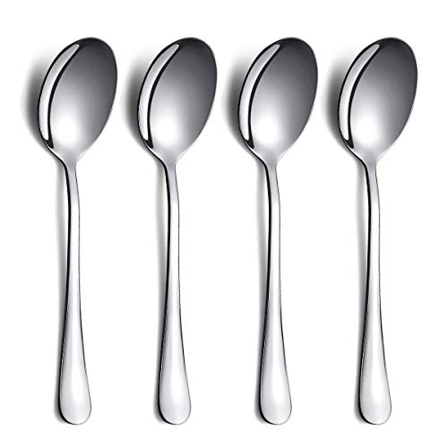 Serving Spoons 4 Pieces Kyraton Serving Spoons Include Solid Serving Spoon Stainless Steel Serving Utensils Serving Set Packing of 4