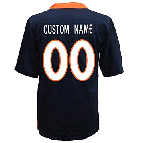 Custom All Teams Football Jerseys Personalized Any Name and Number Jerseys for Mens/Womens/Youth (CO.D. Bronco)