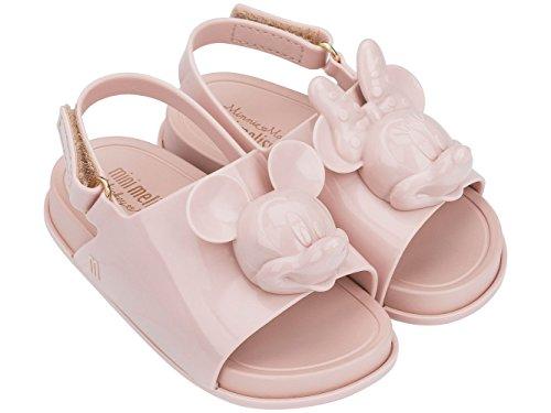 melissa Mini Disney Beach Slide Plastic Slingback Sandal Blush-Blush-6 Size 6