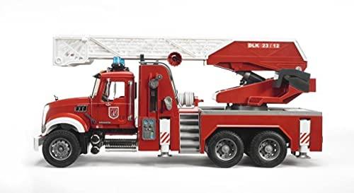bruder mack granite halfpipe dump truck fabricante bruder