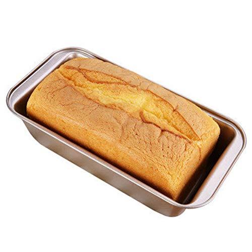 WOYAOY Robuste Brotbackform, Baguette-Blech mit Antihaftbeschichtung für Baguettes Baguetteform Baguette Backblech Blech Brotbackform, Kuchenform für saftige Kuchen und deftige Brote,25 * 13 * 6cm