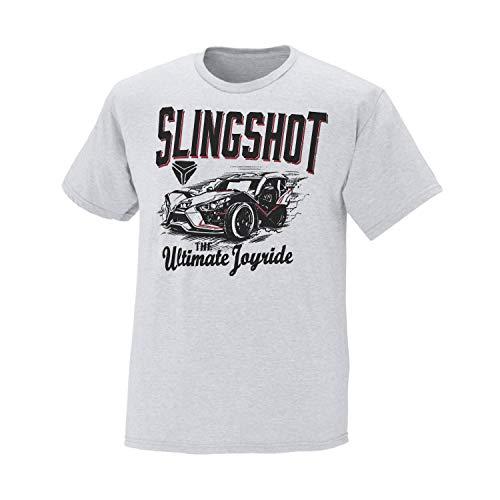 Polaris Slingshot Men's Short-Sleeve Ultimate T-Shirt, White - XL
