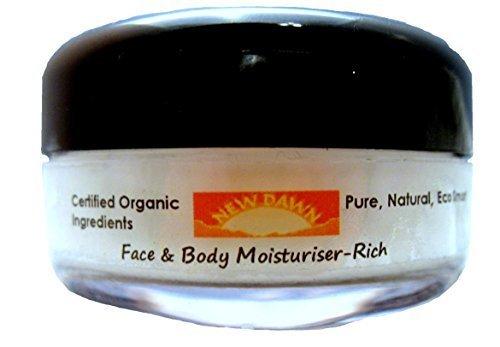 New Dawn - Crème Hydratante Riche En Patchouli Naturelle - Fait A La Main - Gamme n°1 - Acné, anti-âge, anti-ride et allègement cicatrices - 30/75/250ml - Patchouli, 30ml, -