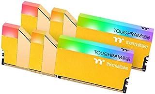 TOUGHRAM RGB Memory DDR4 3600MHz 16GB (8GB x2)-Metallic Gold