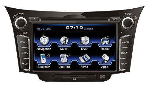 ESX VN710-HY-I30 Navigationssystem (Kontinent)