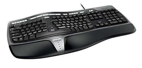 マイクロソフト キーボード 有線/人間工学デザイン Natrual Ergonomic Keyboard 4000 B2M-00029