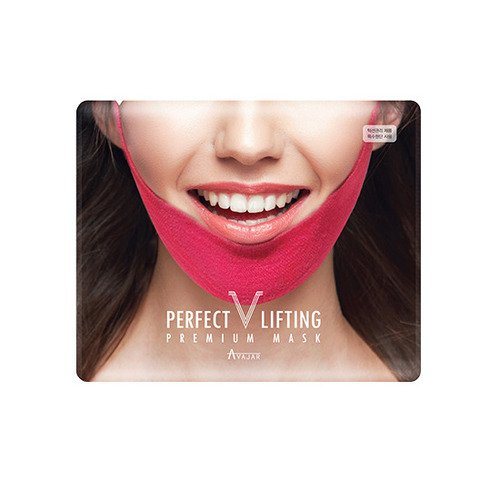 Perfect V Lifting V-Line masker. Gezichtsmasker, verstevigend, vochtinbrengend, verbetering van de gezichtscontouren, dubbele kin-reductie