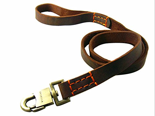 Pet Online Perro de peluche, cuerda de tracción, puro cuero