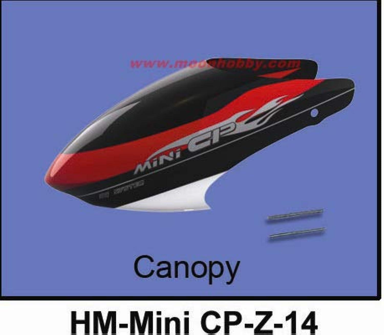 Walkera Mini CP Canopy HMMini CPZ14 Mini cp Spare Parts FreeTrack Shipping
