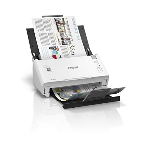 Epson WorkForce DS-410 Sheet-Fed Scanner, Bl