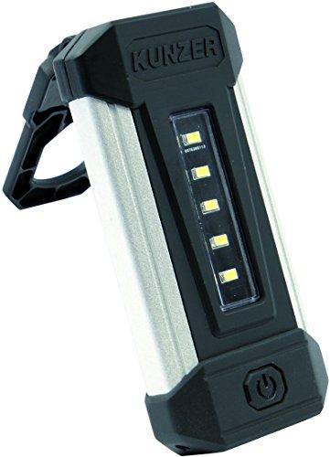 Kunzer PL-051 SMD-LED werklamp, zwart/zilver