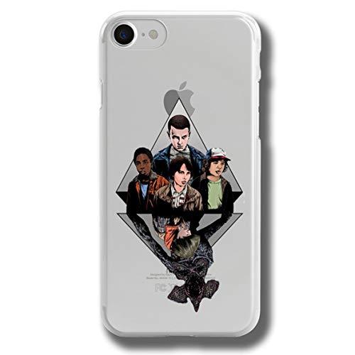 RENGMIAN Funda iPhone 6 Plus,Strnger Thngs Scratch-Resistant Transparent Soft TPU Case Pattern-415 Resistant Slim Fit iPhone 6 Plus and iPhone 6S Plus