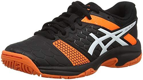 Asics Gel-Blast 7 GS, Zapatillas de Balonmano Unisex Niños, Negro (Black/White 400), 33 EU