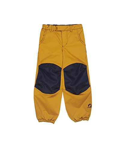 Finkid Huima Plus harvest gold navy Kinder Outdoor Regenhose