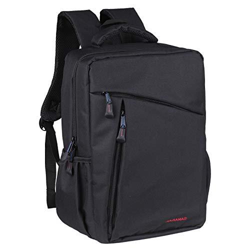 Decdeal Backpack Shoulders Bag Oxford Backpack Outdoor Travel Day Trip Commute Backpack School Business Laptop Bag Rucksack Unisex